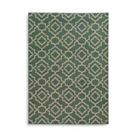 Oriental Weavers Ella Diamond Trellis 5-Foot 3-Inch x 7-Foot 3-Inch Area Rug in Blue