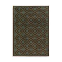 Oriental Weavers Ella Geometric Circles 7-Foot 10-Inch x 10-Foot Area Rug in Brown