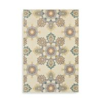 Oriental Weavers Hampton Floral 1-Foot 10-Inch x 7-Foot 6-Inch Runner in Ivory