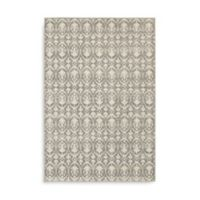 Oriental Weavers Hampton Floral Geometric 1-Foot 10-Inch x 7-Foot 6-Inch Runner in Grey