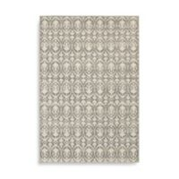Oriental Weavers Hampton Floral Geometric 5-Foot 3-Inch x 7-Foot 6-Inch Area Rug in Grey