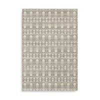 Oriental Weavers Hampton Floral Geometric 6-Foot 7-Inch x 9-Foot 6-Inch Area Rug in Grey