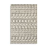 Oriental Weavers Hampton Floral Geometric 9-Foot 10-Inch x 12-Foot 10-Inch Area Rug in Grey