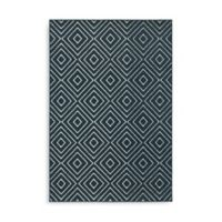 Oriental Weavers Hampton Diamonds 5-Foot 3-Inch x 7-Foot 6-Inch Area Rug in Navy