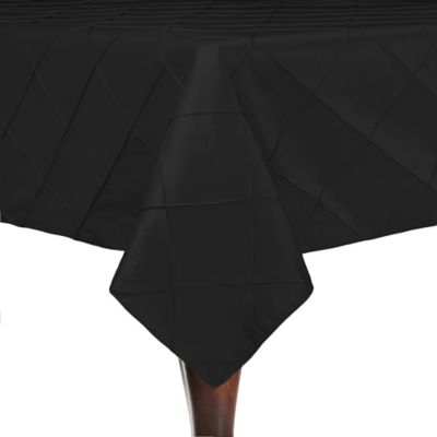 Delightful Bombay 54 Inch Square Tablecloth In Black
