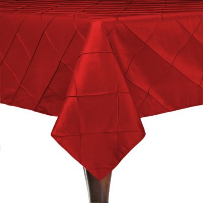 Buy Red Square Tablecloth from Bed Bath & Beyond