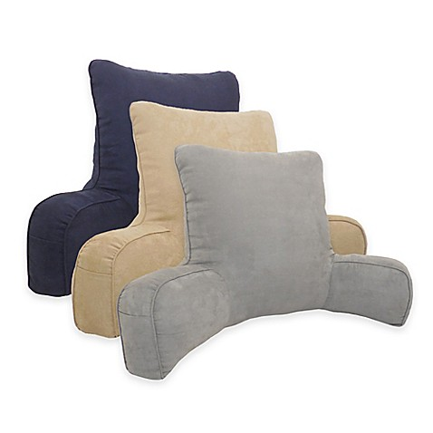 Arlee Home Fashions 174 Suede Oversized Backrest Pillow Bed