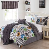 VCNY 11-Piece Turn It Up Twin Comforter Set