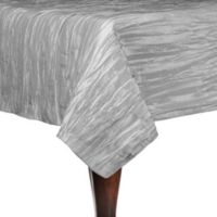 Delano 72-Inch Square Tablecloth in Silver