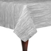 Delano 90-Inch Square Tablecloth in Platinum