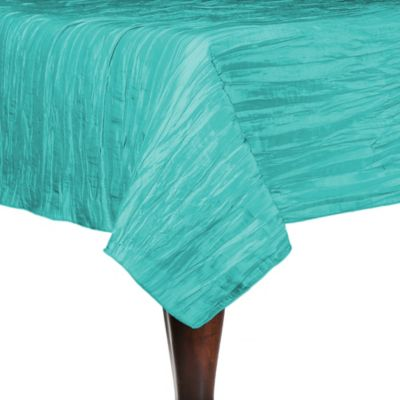 Amazing Delano 50 Inch Square Tablecloth In Turquoise