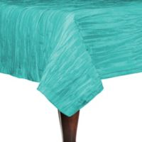 Delano 72-Inch Square Tablecloth in Turquoise