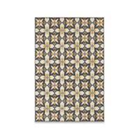 Oriental Weavers Hampton Mod Tiles 5-Foot 3-Inch x 7-Foot 6-Inch Area Rug in Grey
