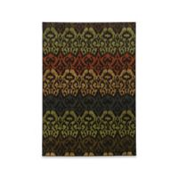 Oriental Weavers Parker Tribal 3-Foot 10-Inch x 5-Foot 5-Inch Area Rug in Black