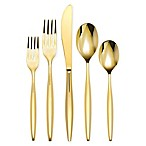 Olivia & Oliver Madison 5-Piece Flatware Place Setting in Gold