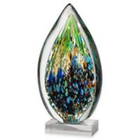 Dale Tiffany™ Leaf Art Glass Sculpture