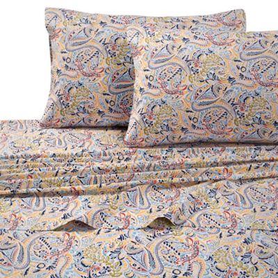 Tribeca Living Fiji 300 Thread Count Premium Cotton Deep Pocket Twin Sheet  Set In
