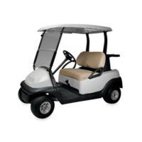 Diamond Air Mesh Golf Cart Seat Cover in Khaki