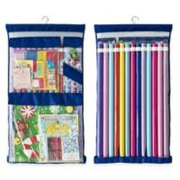 Wrappy Original Gift Wrap Storage Organizer in Royal Blue