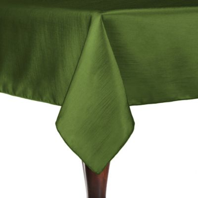 Superior Majestic 90 Inch X 90 Inch Square Tablecloth In Moss