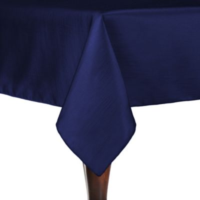 Majestic 54 Inch X 54 Inch Square Tablecloth In Navy