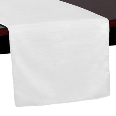 Marvelous Majestic 54 Inch Table Runner In White