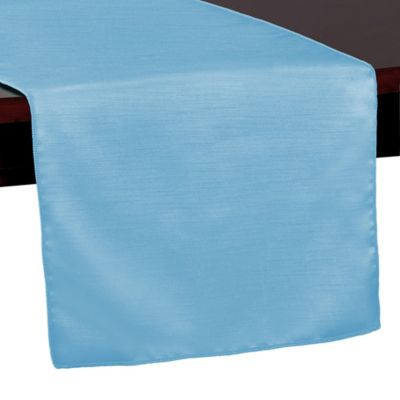 Majestic 72 Inch Table Runner In Light Blue