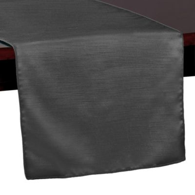 Majestic 54 Inch Table Runner In Charcoal