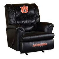 University of Auburn Leather Big Daddy Recliner