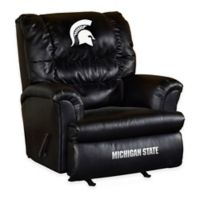 Michigan State University Leather Big Daddy Recliner