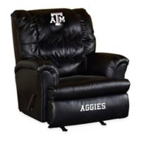 Texas A&M University Leather Big Daddy Recliner