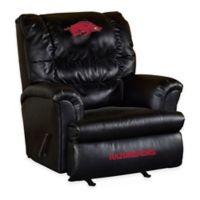 University of Arkansas Leather Big Daddy Recliner