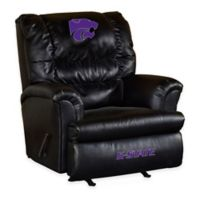 Kansas State University Leather Big Daddy Recliner