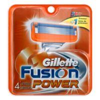 Gillette® Fusion® Power® 4-Count Razor Cartridges