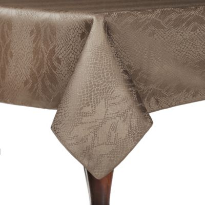 Kenya 54 Inch Square Tablecloth In Sand