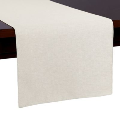 Havana 54 Inch Table Runner In White