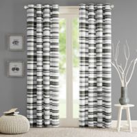 Intelligent Design Sadie 63-Inch Grommet Top Window Curtain Panel in Grey