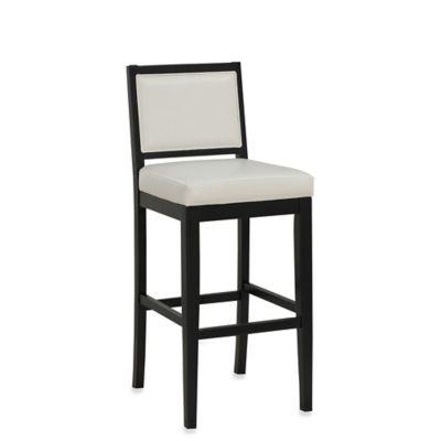 american heritage fairmount counter height stool in black