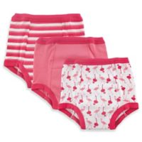 Baby Vision® Luvable Friends® 3-Pack Water-Resistant Training Pants in Pink Flamingo