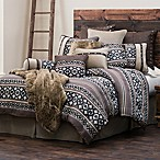 HiEnd Accents Tucson King Comforter Set in Brown