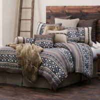 HiEnd Accents Tucson Comforter Set in Brown