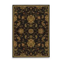 Oriental Weavers Parker Traditional 6-Foot 7-Inch x 9-Foot 6-Inch Area Rug in Black