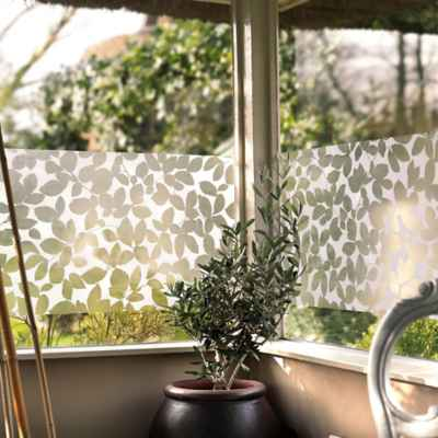 Leaf Static Cling Window Film