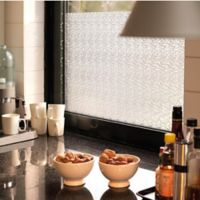 Mikado Ice Chips Static Cling Window Film