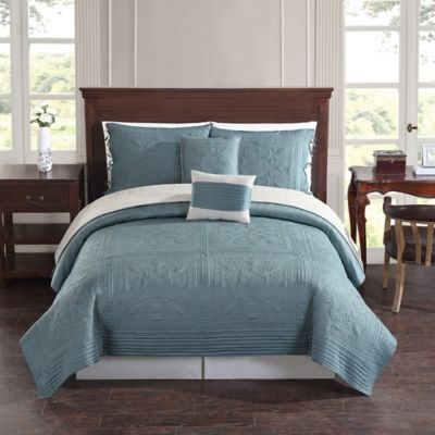 Buy Teal Quilts Sets From Bed Bath Beyond