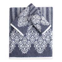 Linum Home Textiles Gioia Turkish Cotton 3-Piece Towel Set in Ocean Blue