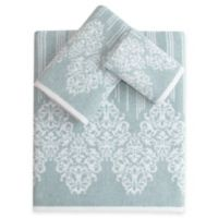 Linum Home Textiles Gioia Turkish Cotton 3-Piece Towel Set in Soft Aqua