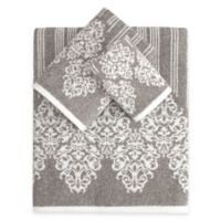 Linum Home Textiles Gioia Turkish Cotton 3-Piece Towel Set in Vintage Brown