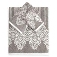 Linum Home Textiles Gioia Turkish Cotton 3-Piece Towel Set in Vintage Brown