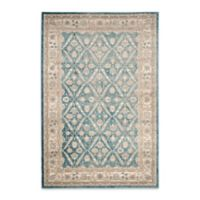 Safavieh Sofia Collection Diamond Border 9-Foot x 12-Foot Area Rug in Blue